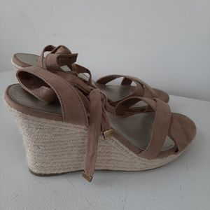 Ana wedge sandals lace up the leg style 10